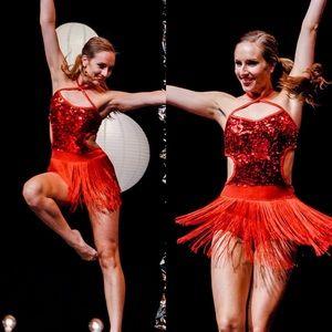 Dance jazz costume